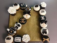 21st Birthday Chanel Cake