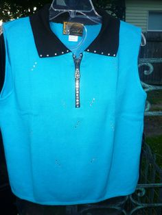 Hand Decorated Sweater Vest by donnawynschenk on Etsy, $30.00