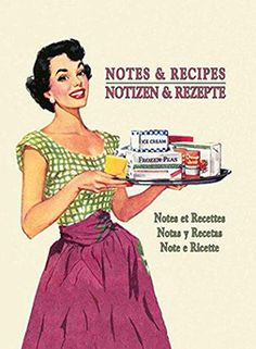 Notebook Notes and Recipes- Write down your secret recipes in this offline Journal.