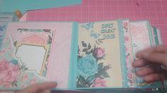 Springtime mini album share, using tea & garden party hot buy pads