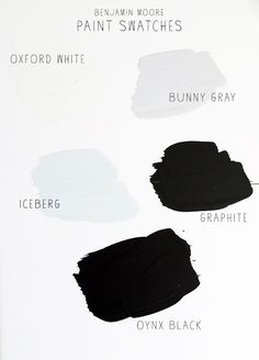 pick a color. any color - swatches from benjamin moore / sfgirlbybay