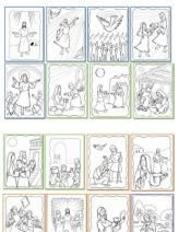 Rosary Lapbook printouts in English