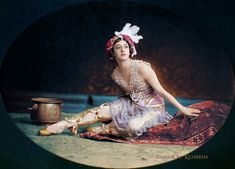 Tamara Karsavina in Scheherazade by klimbims on DeviantArt