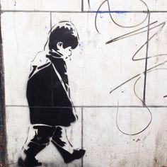 Pochoir #streetart