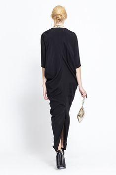 Zero + Maria Cornejo Libe Dress (Black)