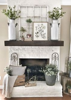 My Pottery Barn Shelf Mantel Hack | Bless This Nest