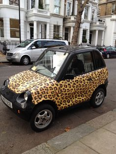 Inspirations: The PJ Salvage team wants this car!!!  We love leopard #leopard