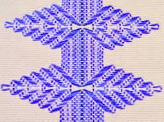 Tina's handicraft : 40 diagrams embroidery VAGONITE Tina's handicraft : 40 diagrams embroidery VAGONITE Swedish Embroidery, Types Of Embroidery, Free Machine Embroidery Designs, Cross Stitch Embroidery, Embroidery Patterns, Cross Stitches, Swedish Weaving Patterns, Loom Patterns, String Art Tutorials