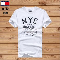 To*mmy Hil Denim 1985 USA New York Men summer T-shirt