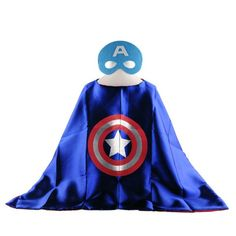 Mask+cape superman spiderman kids superhero capes batman superhero costume suits for boys girls for party - Online Shopping Destination with High-Quality