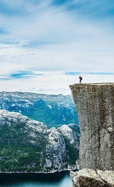 Pulpit Rock perched