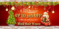 Mink hair weave Christmas sales!#minkhair #minkhairweave Christmas Carnival, Christmas Sale, Christmas Bulbs, Merry Christmas, Weave Hairstyles, Cool Hairstyles, Mink Brazilian Hair, Body Wave Hair, Lace Front Wigs