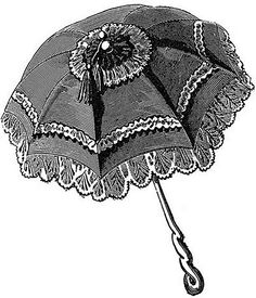 clipart umbrella-free by Sassy Bella Melange, via Flickr