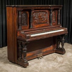 The Style S Upright Grand was the highest-grade, most expensive upright piano in the Fischer Piano product line, selling new for $1,100 - the cost of a small house!