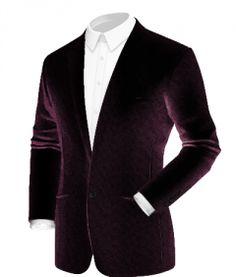 Velvet Blazer Mens, Custom Jackets, Fall Blazer, Purple Velvet, Blazers For Men, Sport Coat, Menswear, Buttons, Collections