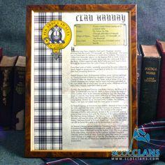 Clan Hannay History