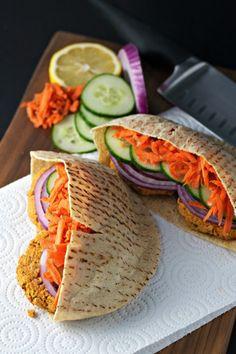 Smokey Falafel Burgers ~vegan, gluten free~