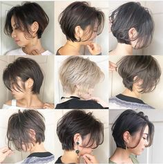 Most Remarkable Japanese Hairstyles 2019 Japanese Short can find Japanese hairstyles and more on our website.Most Remarkable Japanese Hairstyles 2019 . Short Hair Tomboy, Asian Short Hair, Asian Hair, Girl Short Hair, Short Hair Cuts, Asian Pixie Cut, Tomboy Hairstyles, Hairstyles Haircuts, Pretty Hairstyles