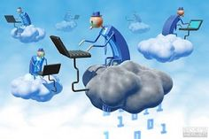 Cloud Computing defines service rather than a product. It also indulges in providing hosted service on the net. Well cloud computing can be a service which is paid or else it may be a free one. Cloud Computing Companies, Benefits Of Cloud Computing, What Is Cloud Computing, It Management, Business Management, Cloud Office, Online Accounting Software, Bookkeeping Software, Business Accounting