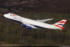 British Airways World Cargo Boeing 747-87UF/SCD  climbing from Cologne Germany  Photographer Rainer Bexten