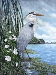 Image result for heron stencil