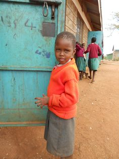 Maasai school outside of Nairobi, Kenya.