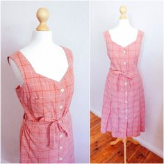 Vintage 70's Western Picnic Dress by LAPraxis on Etsy