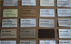 business card stamp - Improvised Life