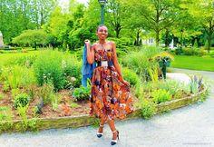 Tuto jupe longue ou robe bustier, au choix!