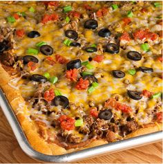 Delicious Cheesy Taco Pizza Recipe Homesteading  - The Homestead Survival .Com
