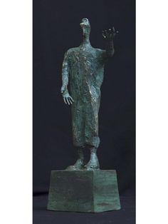 Man in Hat - Purchase online | Artist: Mustafa Ali | Gallerique Gallerique.com