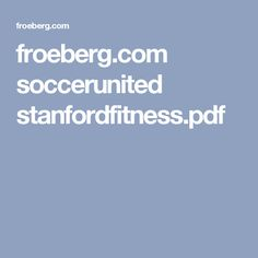 froeberg.com socceru