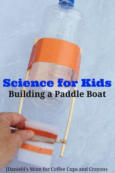 Learn how to build a paddle boat out of a plastic bottle. It's a fun STEM activity you already have the supplies for in your recycling bin!