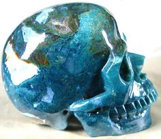Beautiful Artisan Hand Carved Blue Agate Skull Coffee Table Decorative Inspiring Interior Design Fans With Unique Luxury Hollywood Home Decor & Gift Ideas From InStyle-Decor.com Beverly Hills Enjoy & Happy Pinning