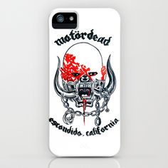 Motordead iPhone & iPod Case by Christopher Chouinard - $35.00
