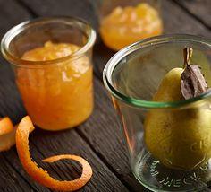 Mus gruszkowy z nutą pomarańczy