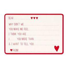 DIY Love Note from Kikki K