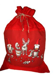 large christmas gift bag scandinavian christmas by vivicreative 1800 christmas gift bags christmas sewing