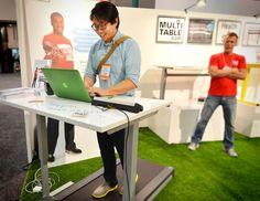 MultiTable ModTable Standing Desk + Treadmill System — Dwell On ...