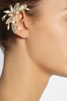 VICKISARGE Swarovski crystal ear cuff