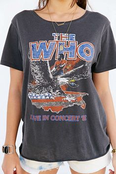 Junk Food The Who Tour Tee // Graphic band tee