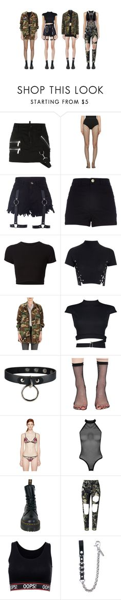 """VIVAMOON ""BOY"" Debut Stage"" by viva-moon ❤ liked on Polyvore featuring Dsquared2, Wolford, River Island, Getting Back To Square One, Glamorous, Harvey Faircloth, Boohoo, Leg Avenue, Fleur du Mal and Dr. Martens"