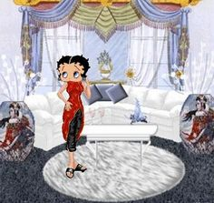 Betty boop graphics, Hi BB love your living room