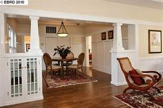 1618 6TH St Alameda, CA 94501 - 1918 Craftsman with room dividers