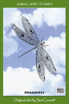 Dragonflies Artwork | Dragonfly brings enlightenment and wisdom through transformation. She ...