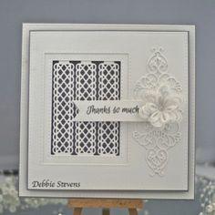 Thanks so much card by Debbie Stevens