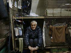 Hong Kong caged poor