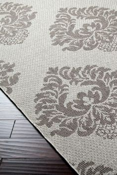 Elements Collection Ash Gray Rug by Surya on @HauteLook