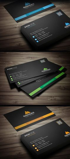 Flat business card template free download business cards design 25 new professional business card psd templates reheart Choice Image