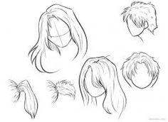Znalezione obrazy dla zapytania anime hairstyles